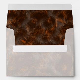 The fur collection - Calico Fur Envelopes