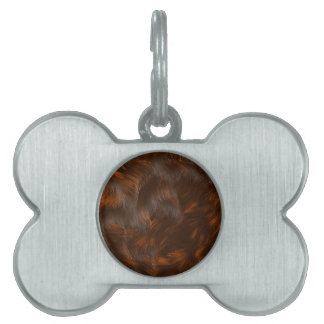 The fur collection - Calico Fur Pet ID Tag
