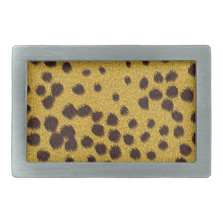 The fur collection - Cheetah Fur Belt Buckle