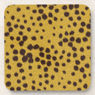 The fur collection - Cheetah Fur Drink Coasters