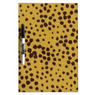 The fur collection - Cheetah Fur Dry Erase Board