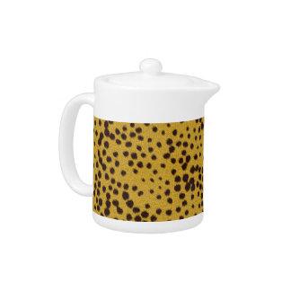 The fur collection - Cheetah Fur Teapot