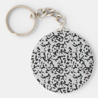 The fur collection - Dalmatian Fur Basic Round Button Keychain