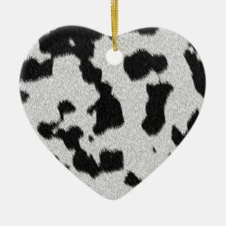 The fur collection - Dalmatian Fur Ceramic Ornament