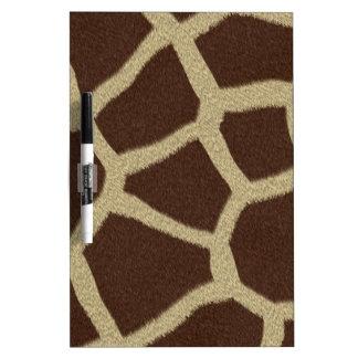 The fur collection - Giraffe Fur Dry-Erase Board