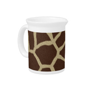 The fur collection - Giraffe Fur Pitcher