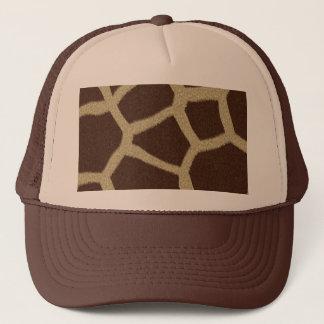The fur collection - Giraffe Fur Trucker Hat