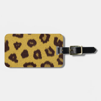 The fur collection - Leopard Bag Tag