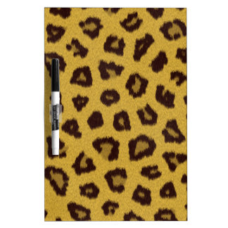 The fur collection - Leopard Dry Erase Board
