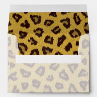 The fur collection - Leopard Envelopes