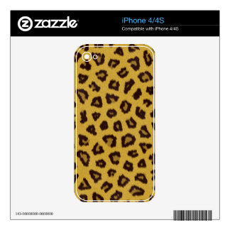 The fur collection - Leopard iPhone 4 Skins