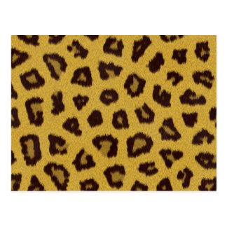 The fur collection - Leopard Postcard