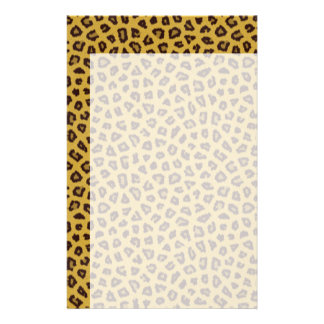 The fur collection - Leopard Stationery