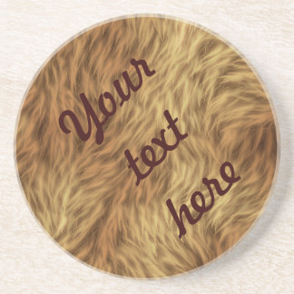 The fur collection - Shaggy Fur Drink Coaster