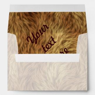 The fur collection - Shaggy Fur Envelopes