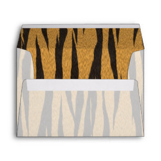 The fur collection - Tiger Envelope