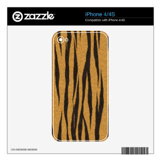 The fur collection - Tiger iPhone 4 Skins