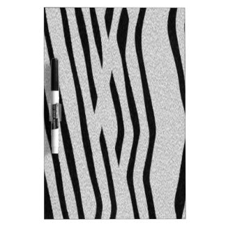 The fur collection - Zebra Dry Erase Board