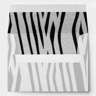 The fur collection - Zebra Envelope