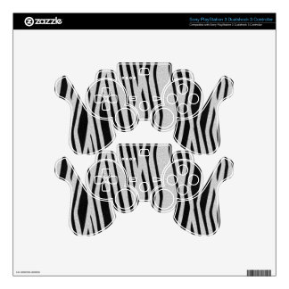 The fur collection - Zebra PS3 Controller Skins