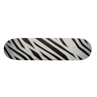 The fur collection - Zebra Custom Skate Board