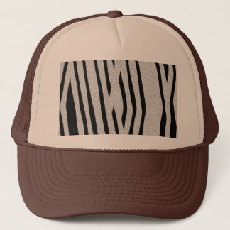 The fur collection - Zebra Trucker Hat