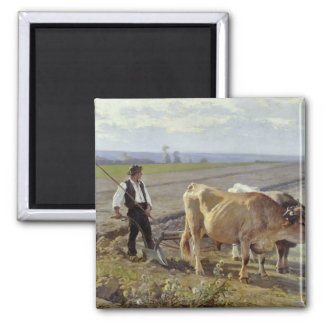 The Furrow, 1897 2 Inch Square Magnet