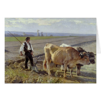 The Furrow, 1897 Card