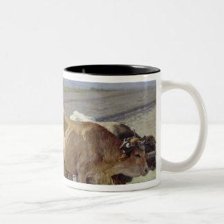 The Furrow, 1897 Two-Tone Coffee Mug