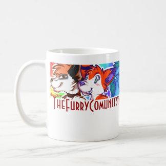 The Furry Community,,... Classic White Coffee Mug