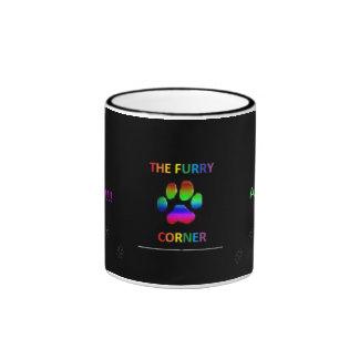 The Furry Corner Coffee Cup Ringer Coffee Mug