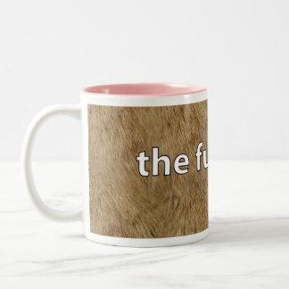 The Furry Cup Two-Tone Coffee Mug