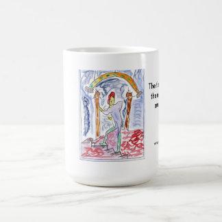 The further I go up the more afraid I am of failur Coffee Mug