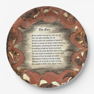 The Fury 9 Inch Paper Plate