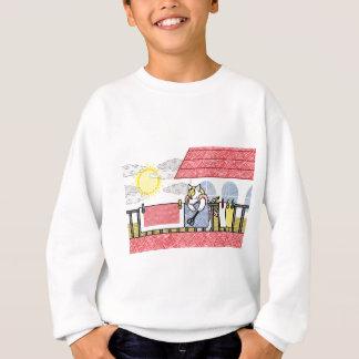 The futon it dries, (Hang out futon) Sweatshirt