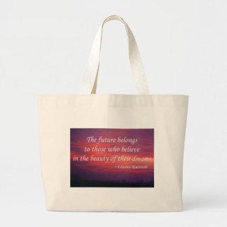 The Future Belongs Bags