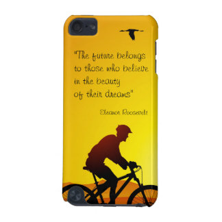 The future belongs to those who believe Roosevelt iPod Touch (5th Generation) Covers