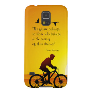 The future belongs to those who believe Roosevelt Galaxy S5 Case