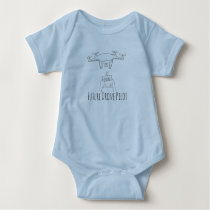The Future Drone Pilot baby onsie Baby Bodysuit