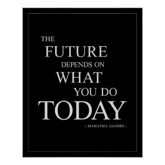 The Future-Inspirational Motivational Poster 16x20 Posters