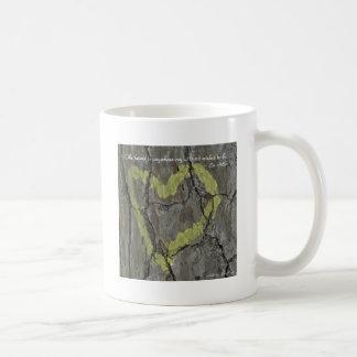 The future is anywhere my Heart... Coffee Mug