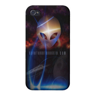 THE FUTURE IS BACK ip 4 glossy iPhone 4 Covers
