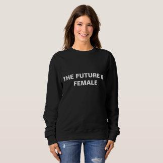 The future is female - Black sweater