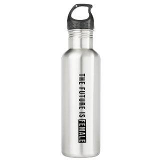 The Future is Female | Block Water Bottle