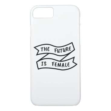 The Future Is Female Ribbon iPhone 8/7 Case