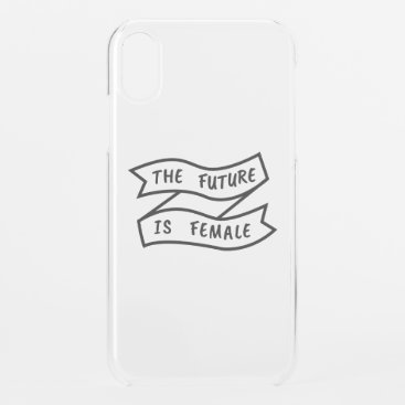 The Future Is Female Ribbon iPhone XR Case