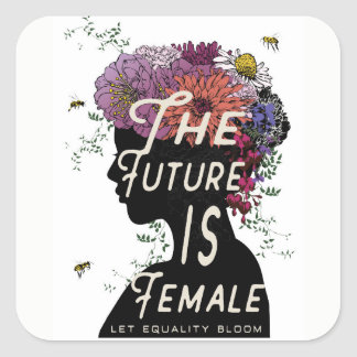 The Future Is Female - stickers