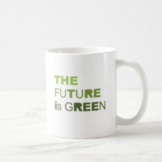 THE FUTURE IS GREEN  - COFFEE MUG