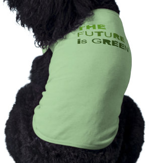 THE FUTURE IS GREEN  - PET T-SHIRT
