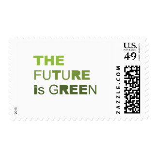 THE FUTURE IS GREEN  - POSTAGE